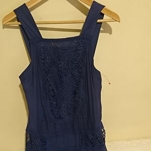 NWOT Free People Lace Detailed Dress